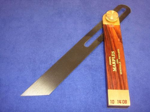 "Joseph Marples Rosewood Carpenters Sliding Bevel 230mm 9"" Sheffield 20E"